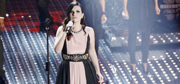 Die Sängerin Laura Pausini