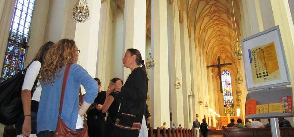 Kirchenführung im Dom vom Münchner Bildungswerk