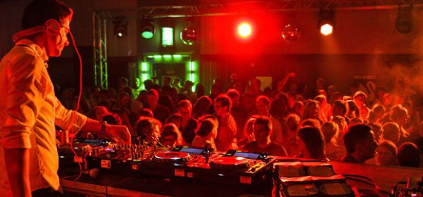 Partystimmung mit DJ