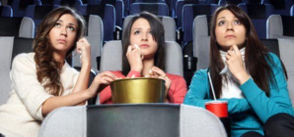 Mädchen im Kino