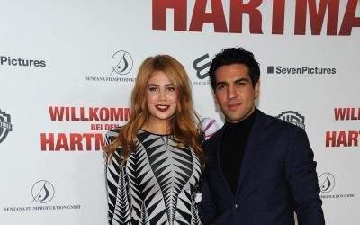 Palina Rojinski und Elyas M'Barek bei der Premiere