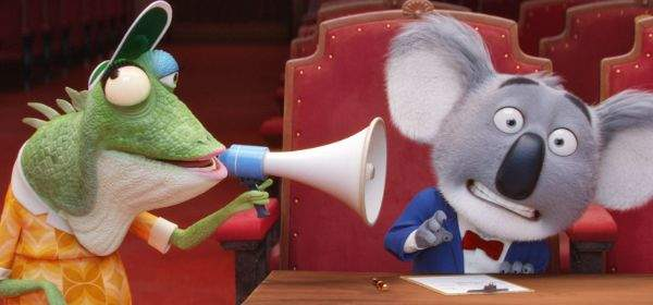 "Szene aus dem Film ""Sing""."