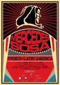 Mercedes Sosa - die Stimme Lateinamerikas (OV) - Kinoplakat