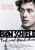 Egon Schiele - Tod und Mädchen - Kinoplakat