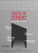 Taste of Cement (OV) - Kinoplakat