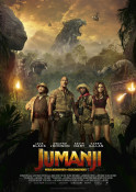 Jumanji: Willkommen im Dschungel - Kinoplakat