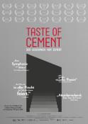 Taste of Cement - Kinoplakat