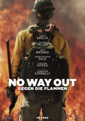 No Way Out - Gegen die Flammen - Kinoplakat