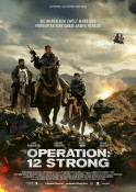 Operation: 12 Strong - Kinoplakat