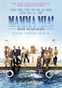 Mamma Mia! Here We Go Again - Kinoplakat