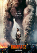 Rampage - Big Meets Bigger 3D - Kinoplakat