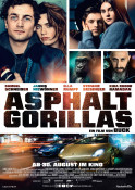Asphaltgorillas - Kinoplakat