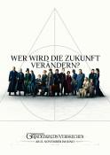 Phantastische Tierwesen: Grindelwalds Verbrechen 3D - Kinoplakat