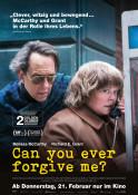 Can you ever forgive me? - Kinoplakat