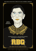 Filmplakat: RBG - Ein Leben für die Gerechtigkeit