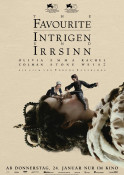 Filmplakat: The Favourite - Intrigen und Irrsinn