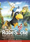 Der kleine Rabe Socke - Suche nach dem verlorenen Schatz - Kinoplakat