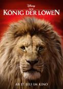 Der König der Löwen 3D - Kinoplakat