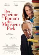 Der geheime Roman des Monsieur Pick (OV) - Kinoplakat