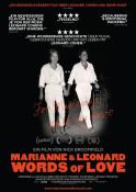 Marianne & Leonard - Words of Love (OV) - Kinoplakat