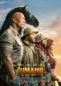 Filmplakat: Jumanji: The Next Level 3D