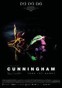 Cunningham 3D - Kinoplakat