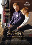 Sorry we missed you - Kinoplakat