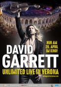 Filmplakat: David Garrett: Unlimited - Live in Verona