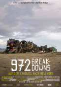 972 Breakdowns - Auf dem Landweg nach New York - Kinoplakat