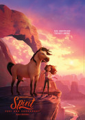 Spirit - Frei und ungezähmt - Kinoplakat