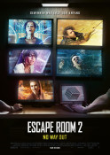Escape Room 2 - No Way Out - Kinoplakat