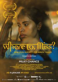 Where to, Miss? - Kinoplakat