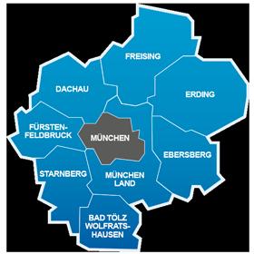 Landkreise Im S Bahngebiet Munchen Informationen