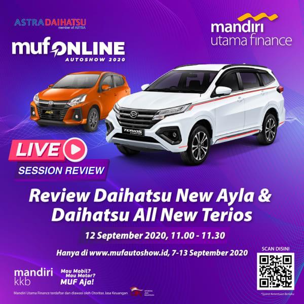 Review Daihatsu New Ayla & All New Terios
