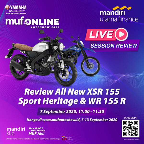 Review All New XSR 155 Sport Heritage & WR 155R