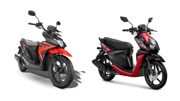 Review Perbandingan Suzuki NEX II Cross vs Yamaha X Ride 125