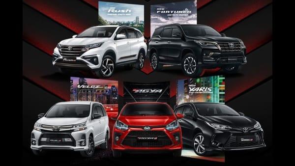Resmi, Toyota Luncurkan 5 Model Gazoo Racing