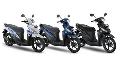 Suzuki Address Punya 10 Warna, Harganya Ramah Kantong!