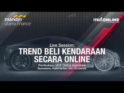 Live Session: Trend Beli Kendaraan Secara Online