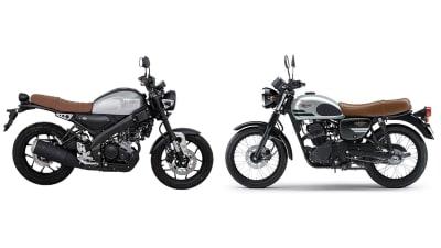Adu Motor Retro: Yamaha XSR 155 vs Kawasaki W175