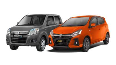 Daihatsu Ayla vs Suzuki Karimun Wagon R, Unggul Mana?