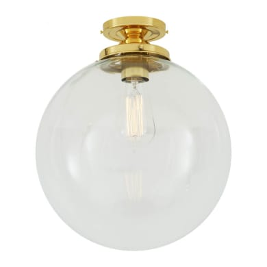 Riad globe ceiling light 30cm