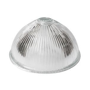 30cm Holophane glass lamp shade