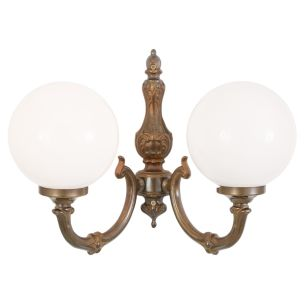 Ben two-arm traditional wall light