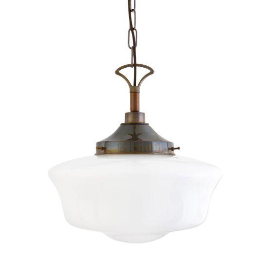 Anath Schoolhouse Bathroom Pendant Light 36cm IP44