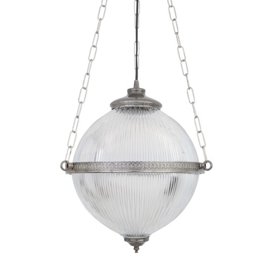 Blaenau Victorian Holophane Pendant Light