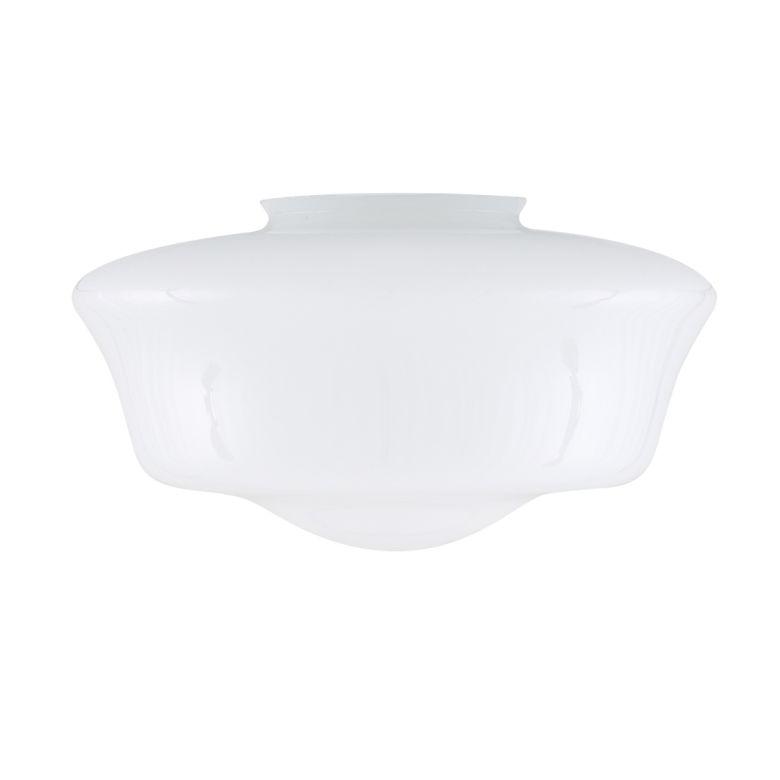 35cm schoolhouse glass lamp shade