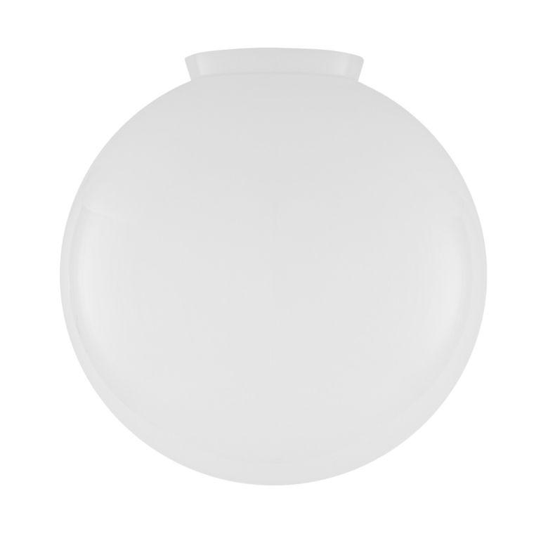 Opal Glass Globe Light Shade 35cm
