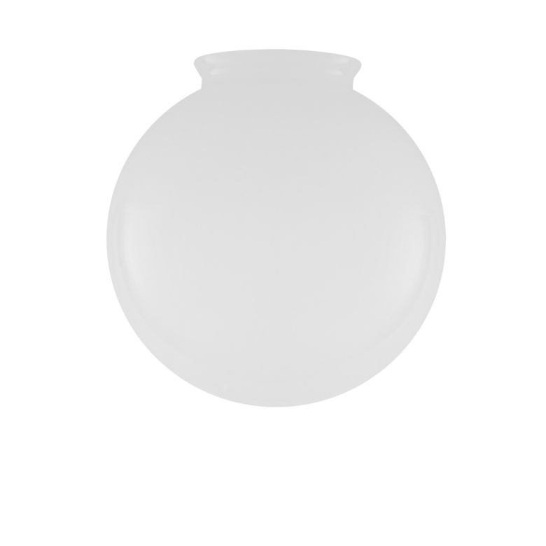 Opal Glass Globe Light Shade 20cm