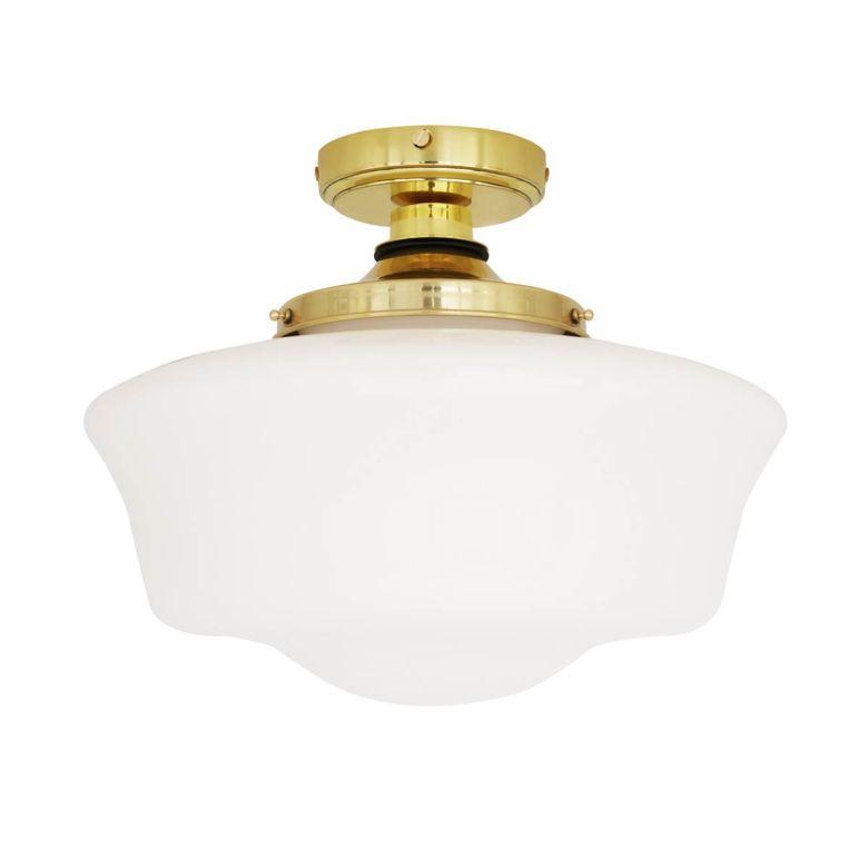 Anath Schoolhouse Bathroom Ceiling Light 36cm IP44